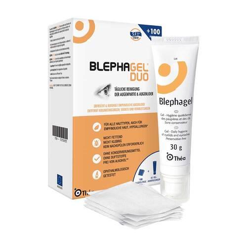 Blephagel Duo 30 g + Pads - 1