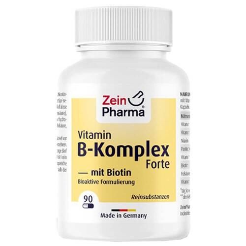 Vitamin B Komplex + Biotin Forte Kapseln - 1