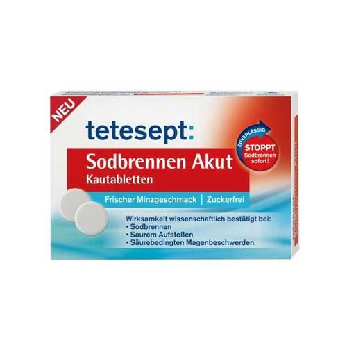 Tetesept Sodbrennen Akut Kautabletten - 1