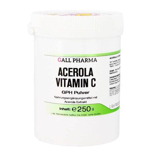 Acerola Vitamin C GPH Pulver - 1