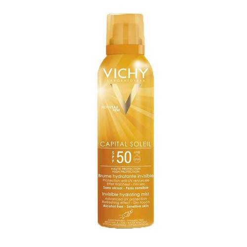 Vichy Capital Soleil Transparentes & hydratisierendes Sonnenspray LSF 50+ - 1
