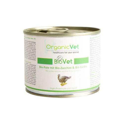Organicvet Biovet mit Pute für Katzen - 1
