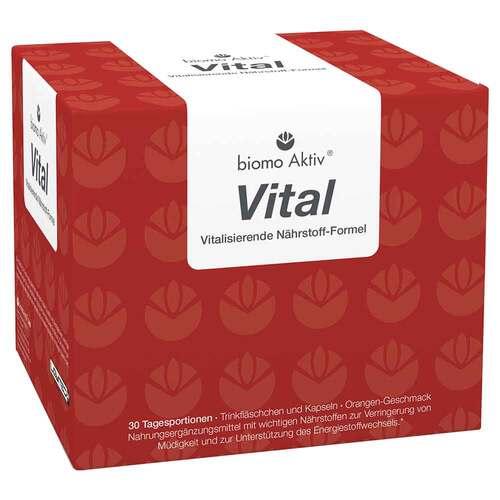 Biomo Aktiv Vital Trinkflaschen 30 Tagesportionen - 1