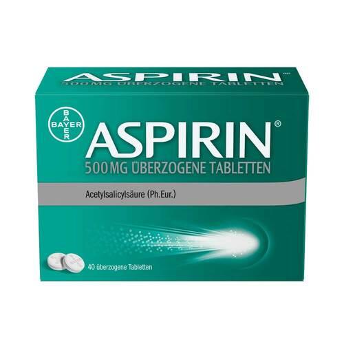 Aspirin 500 mg überzogene Tabletten - 1