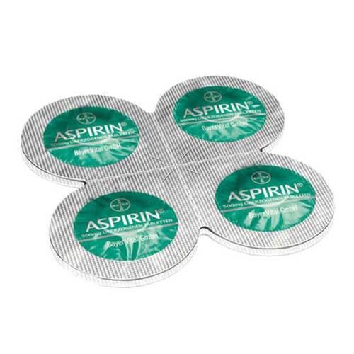 Aspirin 500 mg überzogene Tabletten - 2