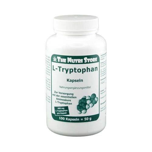 L-Tryptophan 400 mg Kapseln - 1