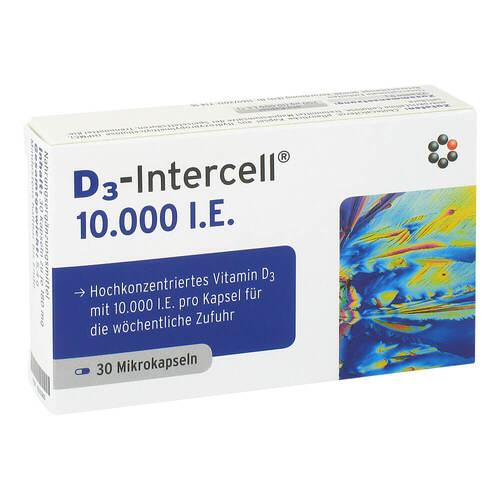 D3-Intercell 10000 I.E. Kapseln - 1