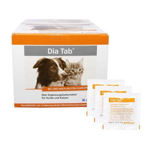 Dia Tab Kautabletten für Hunde und Katzen - 1