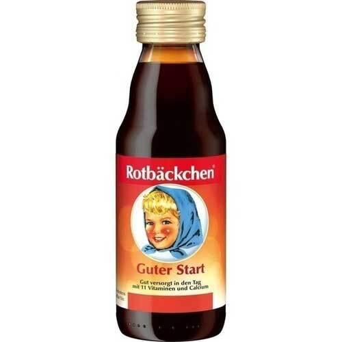 Rabenhorst Rotbäckchen Guter Start mini Saft - 1