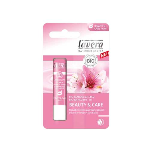 Lavera Lippenbalsam Beauty & Care Rosé - 1