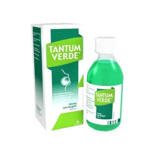 Tantum Verde 1,5 mg / ml Lösung zur Anwendung in der Mundhöhle - 1