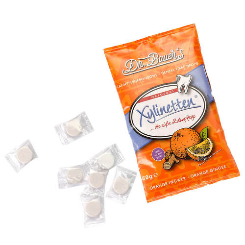 Xylinetten Orange Ingwer Bonbons - 2