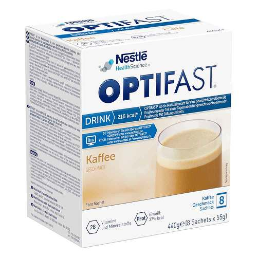 Optifast home Drink Kaffee Pulver - 1