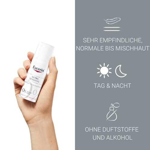 Eucerin UltraSensitive Beruhigende Pflege für normale bis Mischhaut - 3