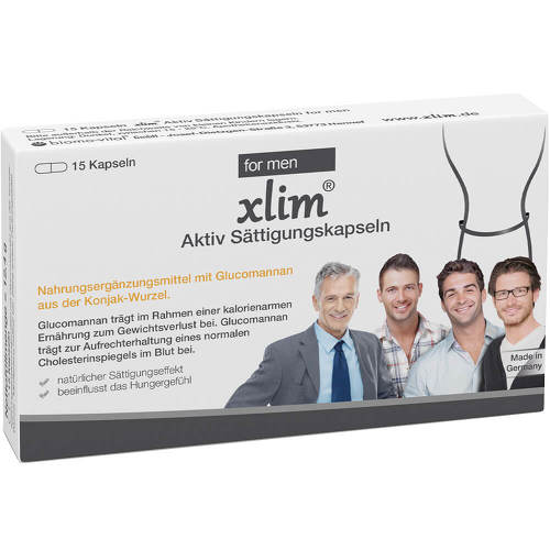 Xlim Aktiv Sättigungskapseln for men - 1