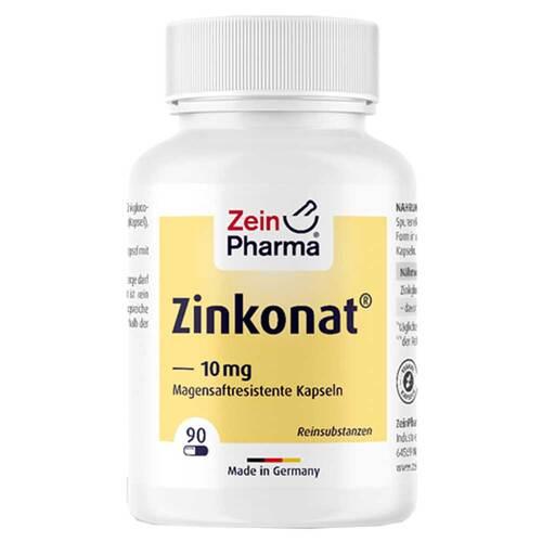 Zinkonat Kapseln 10 mg Zinkgluconat - 1