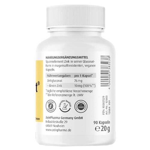 Zinkonat Kapseln 10 mg Zinkgluconat - 3