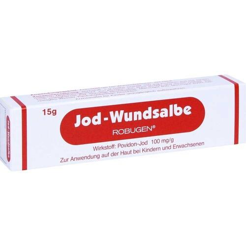 Jod-Wundsalbe Robugen - 1