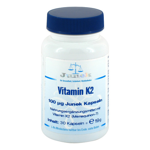 Vitamin K2 100 ug Junek Kapseln - 1