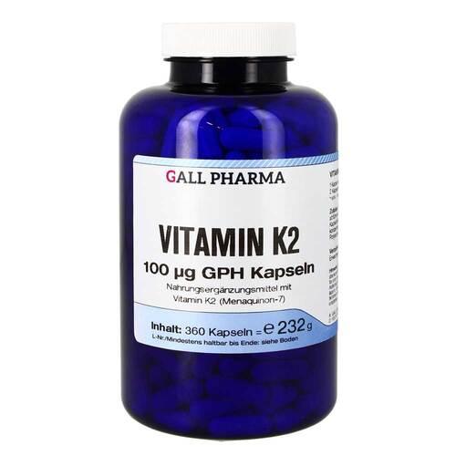 Vitamin K2 100 ug GPH Kapseln - 1