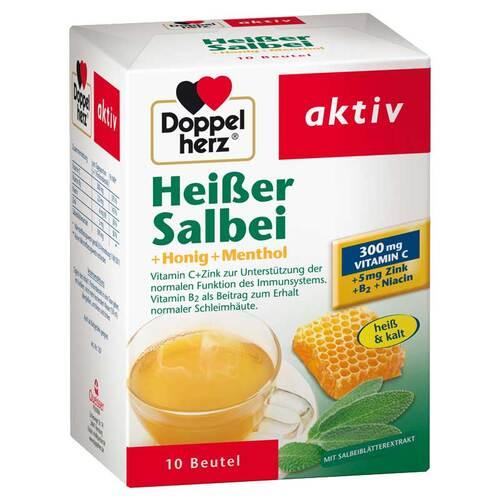 Doppelherz Heißer Salbei+Honig+Menthol Granulat - 1