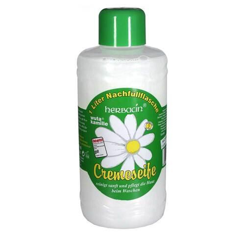 Herbacin kamille Cremeseife Nachfüllflasche - 1