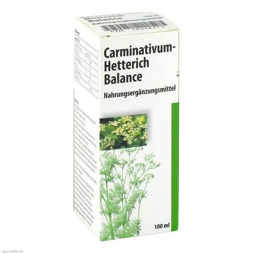 Carminativum Hetterich Balance Tropfen zum Einnehmen - 1