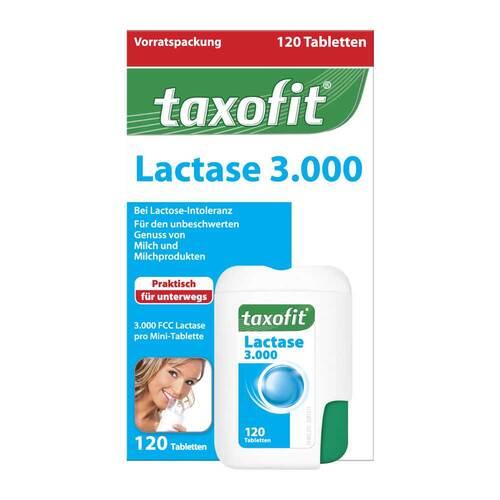 Taxofit Lactase 3.000 Tabletten - 1