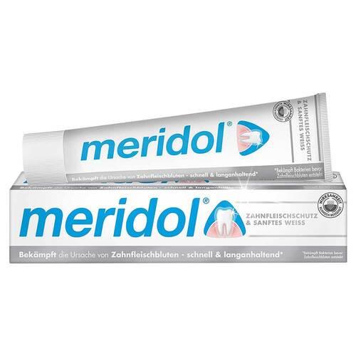 Meridol sanftes Weiss Zahnpasta - 1