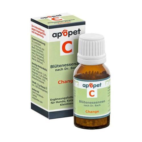 Apopet C Change Blütenessenzen n.Dr. Bach Globuli vet. (für Tiere) - 1
