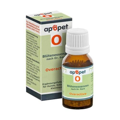 Apopet O Overactive Blütenessenzen n.Dr. Bach Globuli - 1