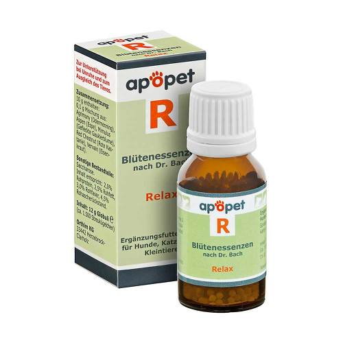 Apopet R Relax Blütenessenzen n.Dr. Bach Globuli - 1