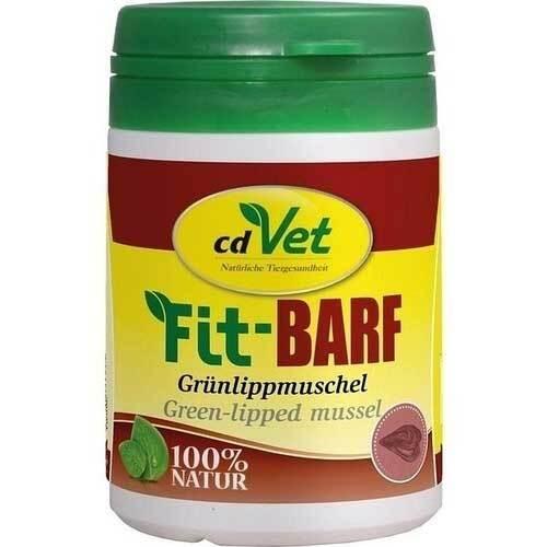 Fit-Barf Grünlippmuschel Pulver für Hunde und Katzen - 1