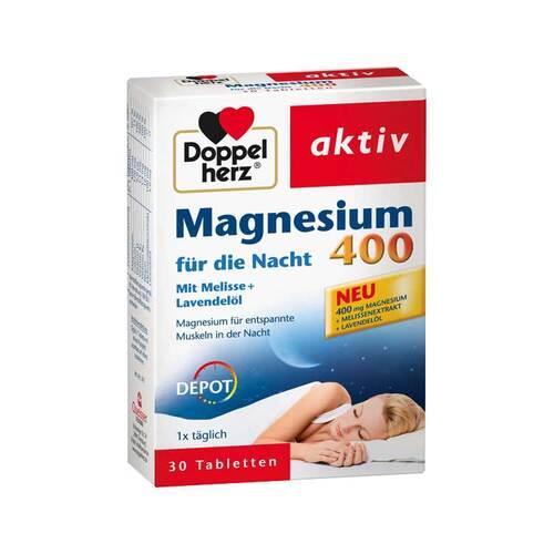 Doppelherz Magnesium 400 für die Nacht Tabletten - 1