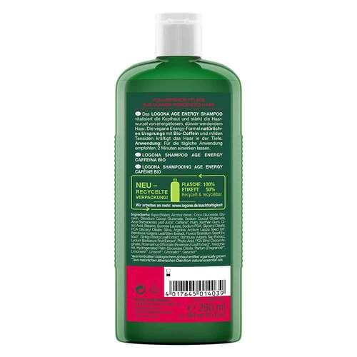 Logona Age Energy Shampoo Bio-Coffein - 2