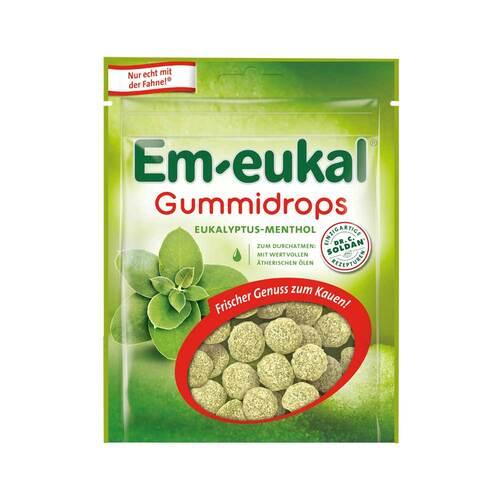 Em-eukal Gummidrops Eukalyptus-Menthol zuckerhaltig - 1