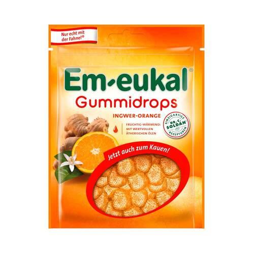 Em-eukal Gummidrops Ingwer-Orange zuckerhaltig - 1