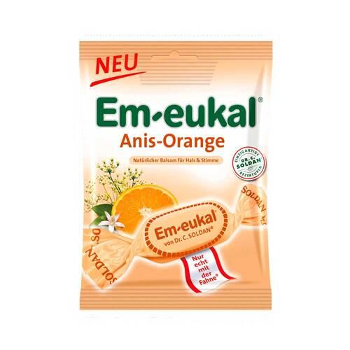 Em-eukal Anis-Orange zuckerhaltig Halsbonbons - 1