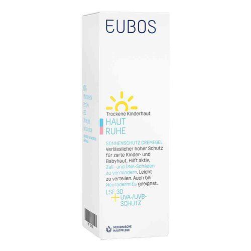Eubos Kinder Haut Ruhe Sonnenschutzcreme Gel LSF 30 + Uva - 1