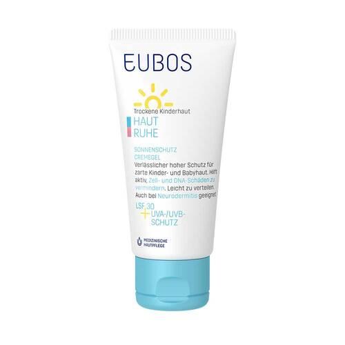 Eubos Kinder Haut Ruhe Sonnenschutzcreme Gel LSF 30 + Uva - 2