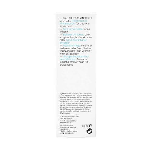 Eubos Kinder Haut Ruhe Sonnenschutzcreme Gel LSF 30 + Uva - 4