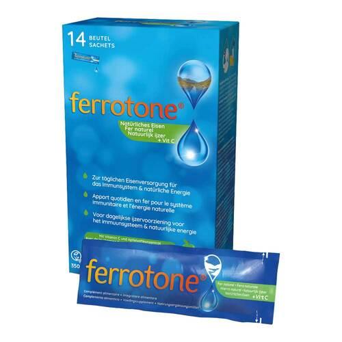 Ferrotone Eisen mit Apfelkonzentrat und Vitamin C - 1