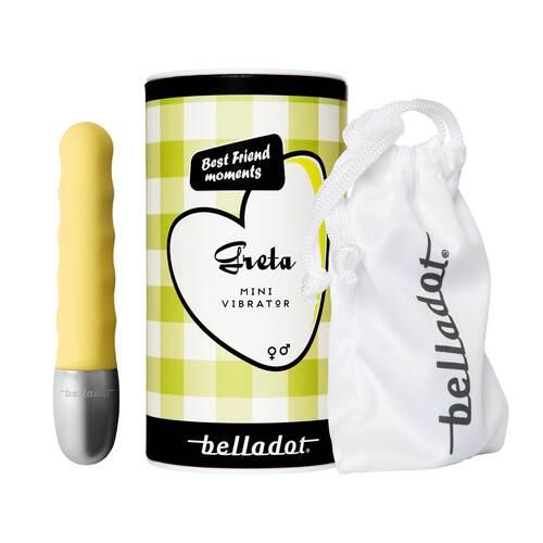Belladot / Greta Minivibrator gelb - 1