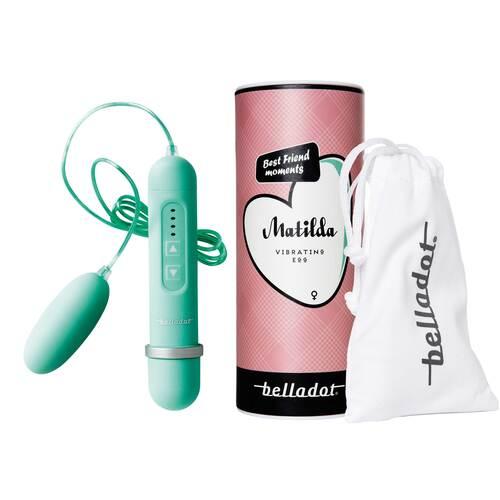 Belladot / Matilda 4-Stufen Ei-Vibrator grün - 1