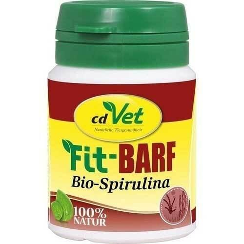 Fit-Barf Bio-Spirulina Pulver für Hunde und Katzen - 1