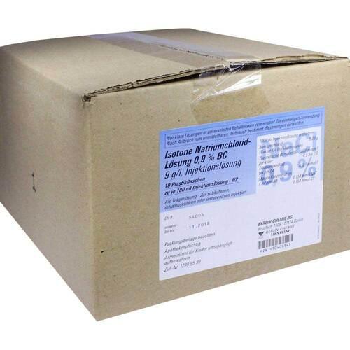 PZN 10407145 Injektionslösung, 10X100 ml