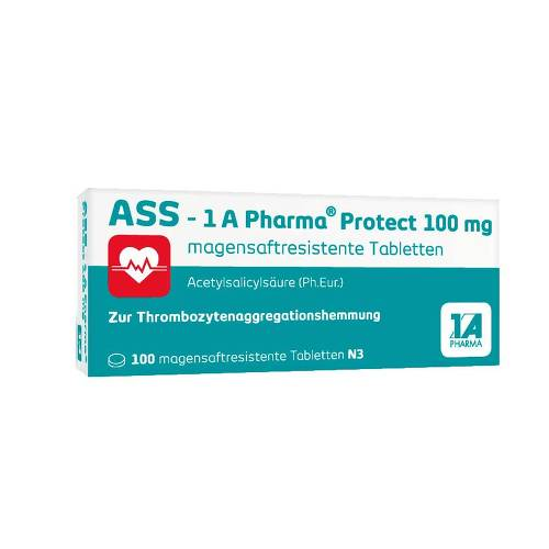 ASS 1A Pharma Protect 100 mg Tabletten - 1