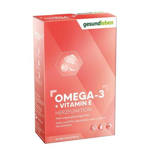 Gesund Leben Omega-3 1.000 mg Kapseln + Vitamin E - 1