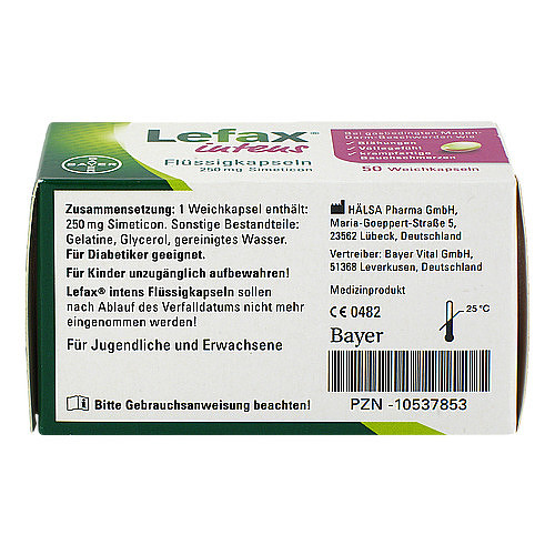 Lefax intens Flüssigkapseln 250 mg Simeticon - 3