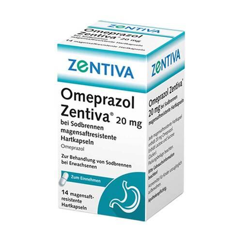 Omeprazol Zentiva 20 mg bei Sodbrennen - 1